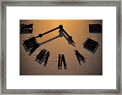 Rough Times Framed Print by Odd Jeppesen