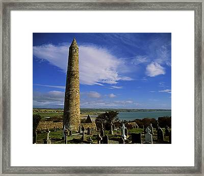 Round Tower, Ardmore, Co Waterford Framed Print by The Irish Image Collection