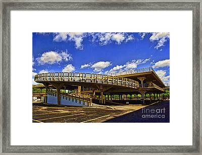 Roundabout Framed Print by Gib Martinez