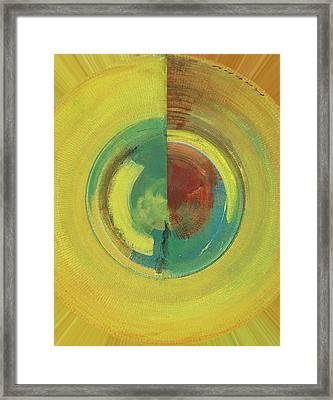 Rounded Framed Print