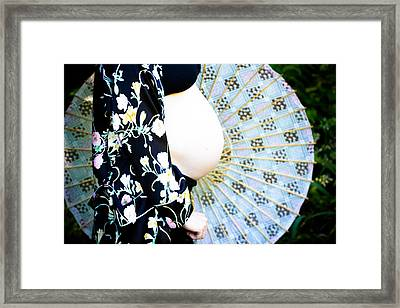 Rounds Framed Print by Denice Breaux