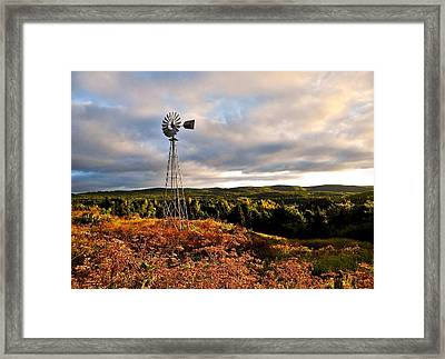 Route 125 Framed Print by Juergen Weiss