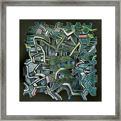 Route 53 / 1985 Framed Print by Glenn Bautista