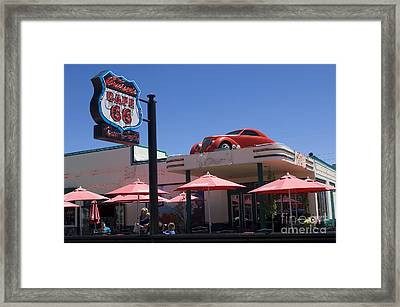 Route 66 Cruisers Williams Arizona Framed Print by Bob Christopher