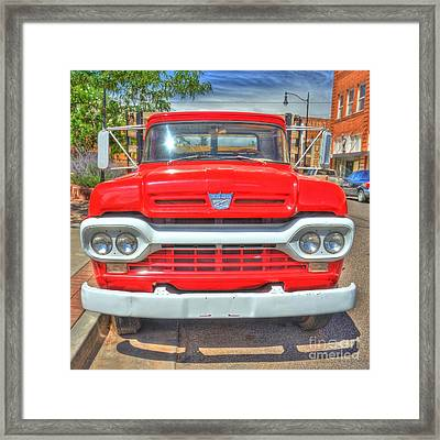 Route 66 Flatbed Ford Framed Print by John Kelly