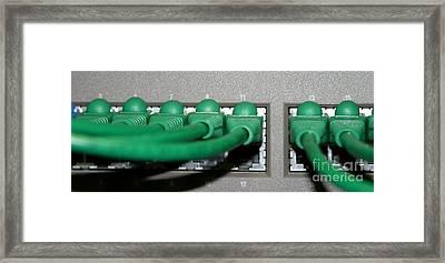 Router Framed Print