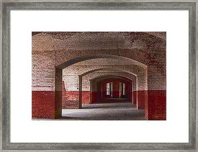 Row Of Arches Framed Print