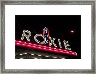 Roxie Framed Print by Thomas Brown
