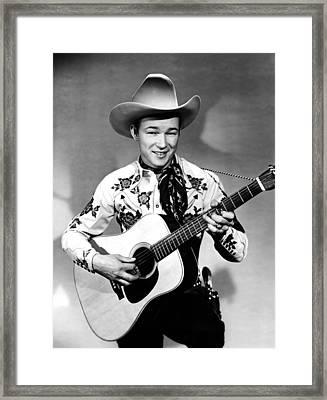 Roy Rogers, C. 1940s Framed Print