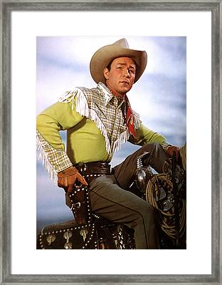 Roy Rogers, C. Late 1940s-early 1950s Framed Print