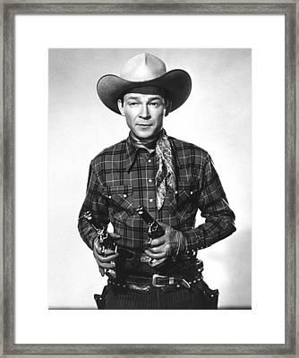 Roy Rogers, Ca 1950 Framed Print
