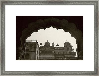 Royal Architecture Framed Print by Tia Anderson-Esguerra