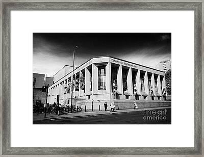 Royal Conservatoire Of Scotland Glasgow Scotland Uk Framed Print by Joe Fox
