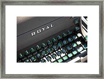 Royal Find Framed Print