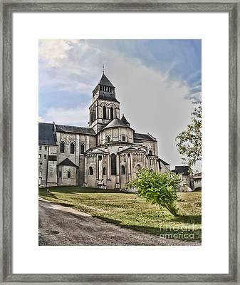 Royal Fontevraud Abbey Framed Print