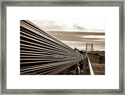 Royal Gorge Bridge Framed Print