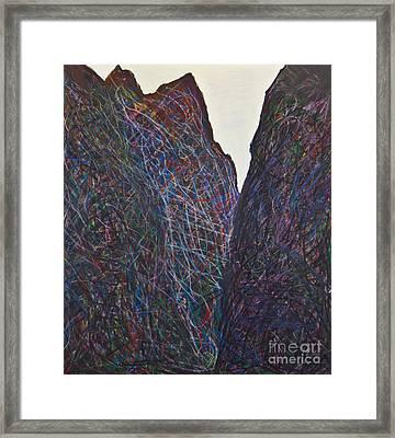 Royal Gorge Framed Print