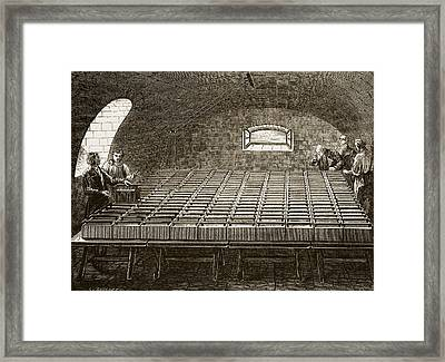 Royal Institution Battery 1807 Framed Print
