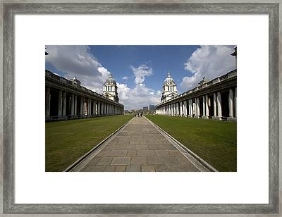 Royal Naval College Framed Print by Lonely Planet