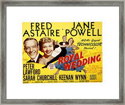 Royal Wedding, Fred Astaire, 1951 Framed Print by Everett