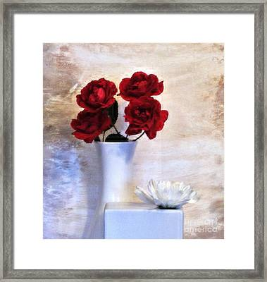 Royalty Roses Framed Print by Marsha Heiken