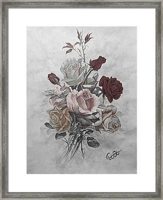 Roze2 Framed Print by Samira Abbaszadeh charandabi
