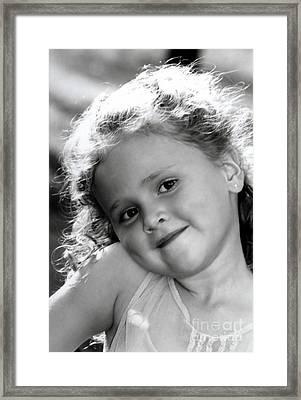 Rportrait Framed Print