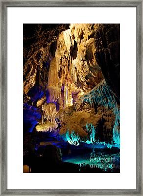 Ruby Falls Cavern 2 Framed Print by Mark Dodd