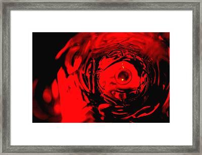 Ruby Red Race Framed Print