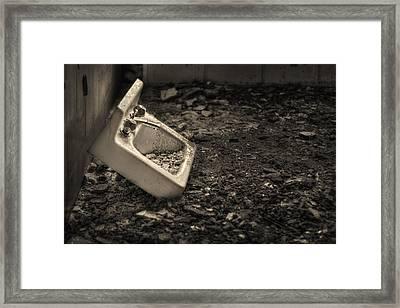 Rude Awakening Framed Print by Evelina Kremsdorf