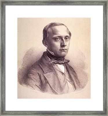Rudolph Virchow 1821-1902, German Framed Print