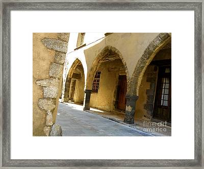 Rue Des Templiers Framed Print by Lainie Wrightson