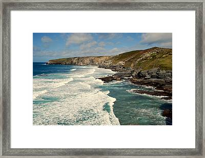 Framed Print featuring the photograph Rugged Beauty by Lynn Hughes