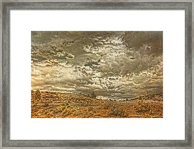 Rugged Country Framed Print by Bonnie Bruno
