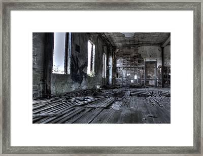 Ruined Framed Print