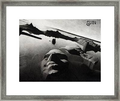 Ruins Of The Colossus Of Rhodes Framed Print