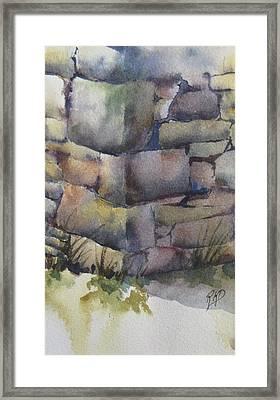 Ruins Framed Print
