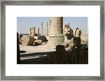 Ruins Framed Print by Tia Anderson-Esguerra