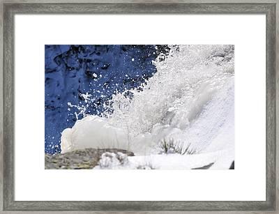 Ruisseau Framed Print by Sylvie Leandre