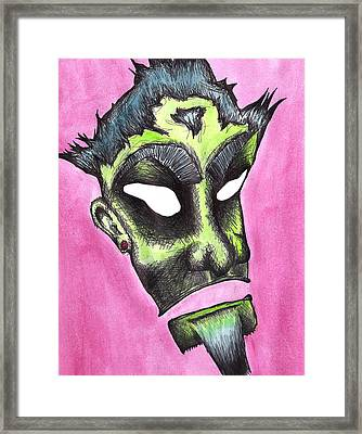 Rukus Framed Print by Jera Sky