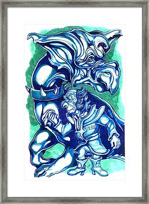 Ruler Of The Known Universe Framed Print by Jamie Jonas
