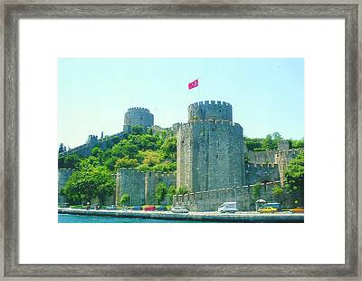 Framed Print featuring the painting Rumeli Hisar by Lou Ann Bagnall