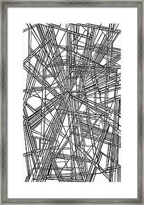 Run Framed Print by Douglas Christian Larsen