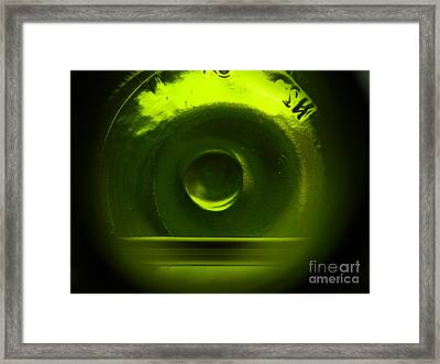 Framed Print featuring the photograph Running On Empty by Everette McMahan jr