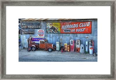 Rural America Framed Print by Bob Christopher