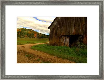 Rural Fixer-upper Framed Print by Susan Camden