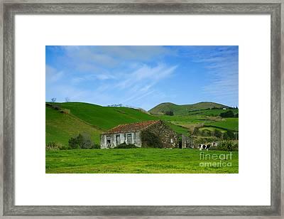 Rural Landscape Framed Print by Gaspar Avila