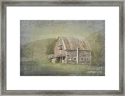 Rural Life Framed Print by Betty LaRue