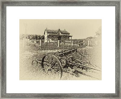 Rural Ontario Antique Framed Print by Steve Harrington