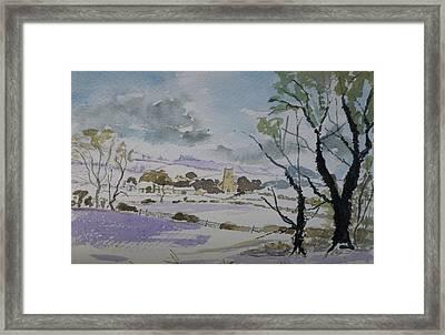 Rural Parish Framed Print by Rob Hemphill